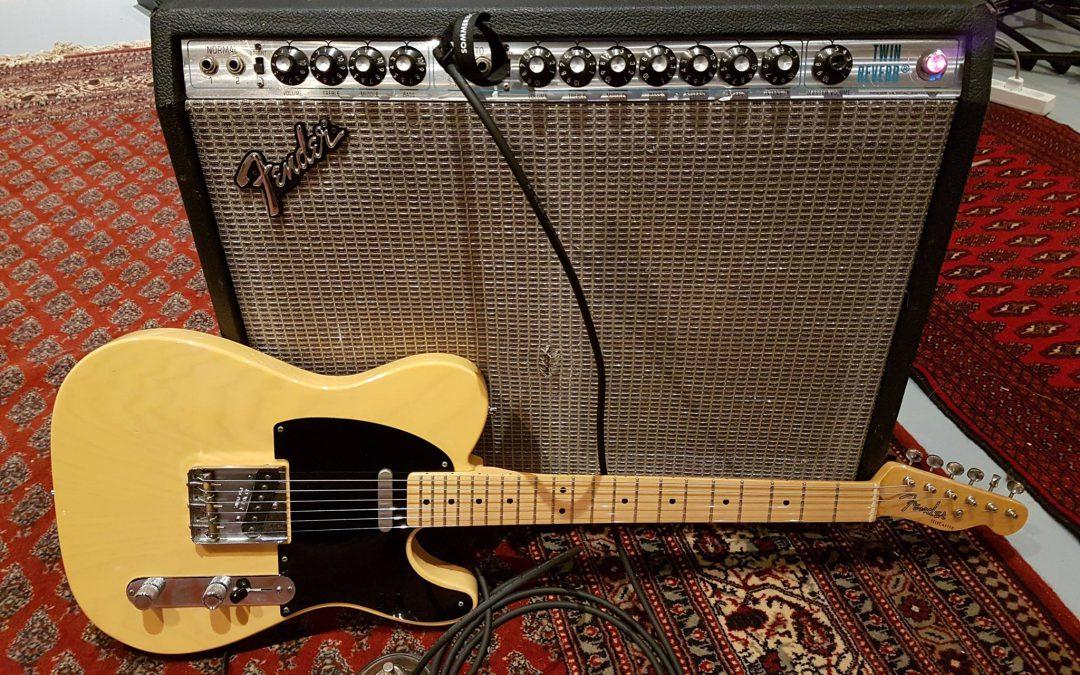 Fender Twin Reverb fra 1978
