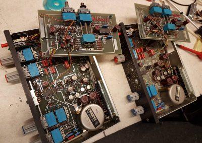 Neumann W495B equalizer moduler fra 1979