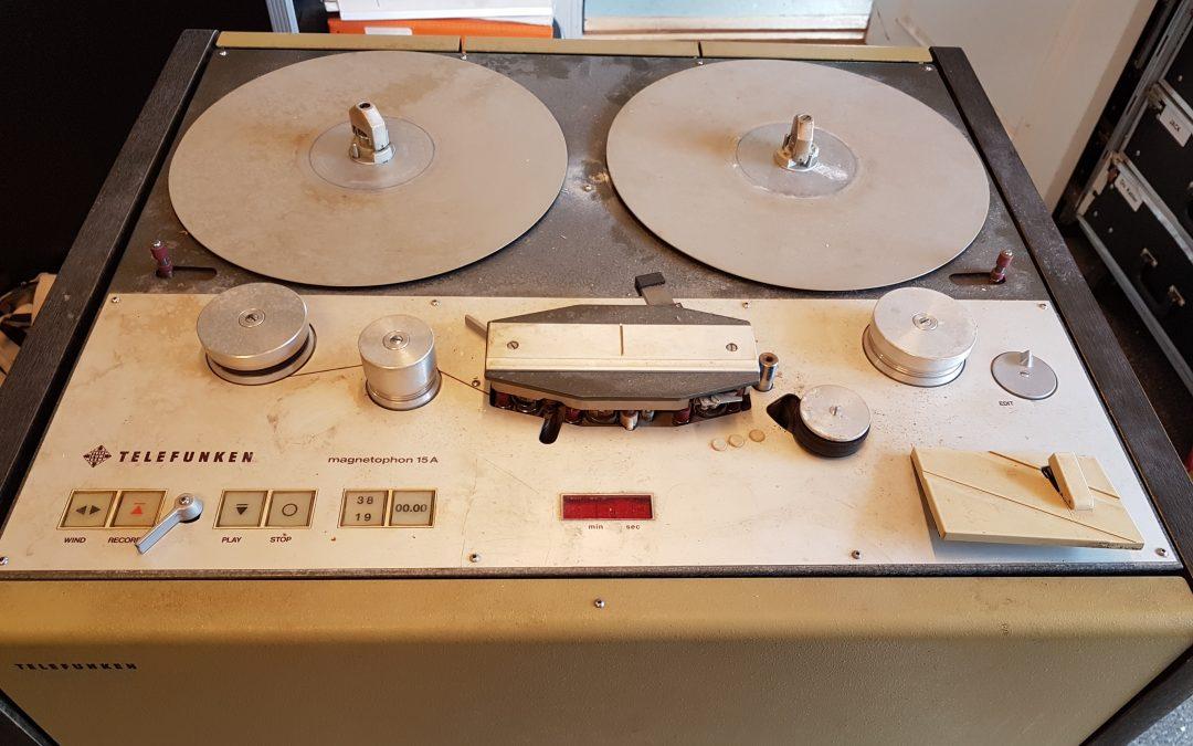 Telefunken M15A – Restaurering